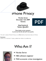 iPhone Privacy