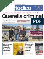 Recull de Premsa Inauguració Placa Commemorativa Barraques Del Litoral 25-11-14