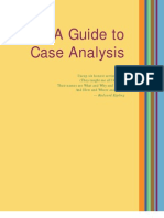 Guide to Case Analysis