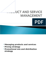 Managing Products and Services  Pricing Strategy