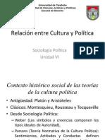 Relación Entre Cultura y Política