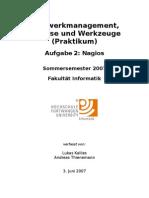Netzwerkmanagement, Analyse Und Werkzeuge (Praktikum)