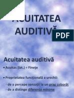 Acuitatea Auditiva