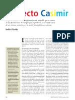 El Efecto Casimir