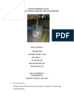Laporan Praktikum Kimia Titik Beku