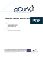 Report and Analysis of the Survey of Training Needs