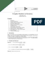 Marko Radovanovic Complex Numbers in Geometry