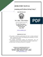 CS 4205 Programming&ProblemSolvingUsingC