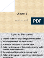 Chapter 5 (Internal Audit )