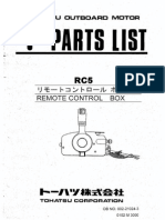 Remote Ontrol Box Parts