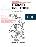 Literary Translation - A Practical Guide مكتبة المترجم هانى البدالى