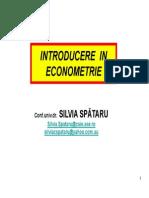 Curs1 Econometrie Prez. 8oct-2014