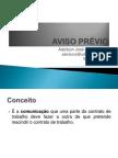 AVISO PRÉVIO - AULA DE DIREITO
