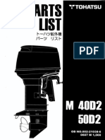 2002 yamaha outboard f225aet fl225aet parts catalogue
