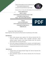 Contoh Surat Keputusan Pengurus