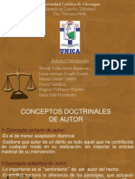 Autoria y Participacion Derecho Penal
