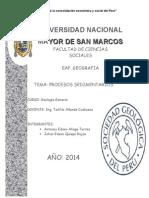 Procesos sedimentarios.doc
