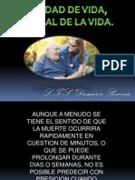 tanatologia- distanasia