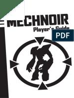 Mechnoir - Players Guide