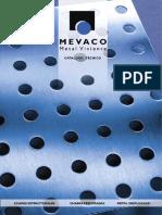 Catálogo Chapas Perforadas-MEVACO
