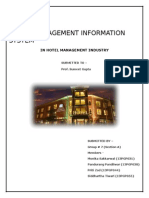 Mis in Hotel Management Systems