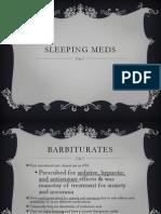 Sleeping Medications