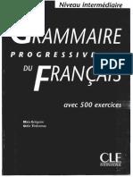 Grammaire Progressive Du Francais Cle