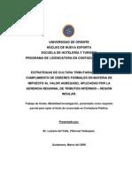 Estructura Organizativa General Según su función