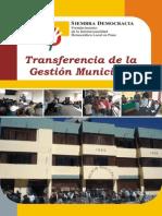 Transferencia de La Gestion Municipal