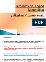 Elementos Logica Matematica y Algebra Proposicional Presentacion Powerpoint