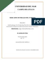 Resumen Methodology for Producing the 2014 Wttc Oxford Economics Travel & Tourism Economic Impact Research