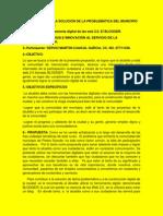 Propuesta Para La Solución de La Problemática Del Municipio de Piedra Grande
