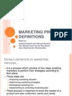 Marketing Process Definition