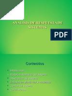 Analisis Respuesta Sistemas Presentacion Powerpoint