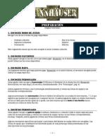 TANNHÄUSER - Reglas Revisadas (Español)