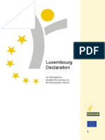 Luxembourg Declaration