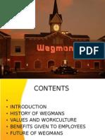 Wegman's Work Culture
