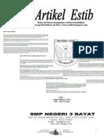 Kumpulan Artikel Pendidikan...dari SMPN 3 Bayat Klaten