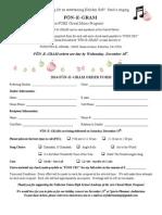 Fon-e-gram Order Form 2014