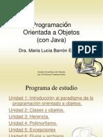 Programacion Orientada a Objetos 2013