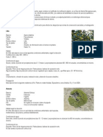 EJEMPLO Descripción de recursos bióticos