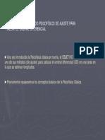 P3. Método de Ajuste 2010-11
