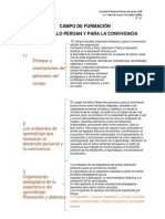 CAMPO de FORMACIÓN.desarrollo Personal y Para La Copnvivencia2