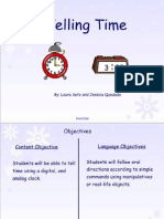 telling time ppt