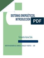 Introduccion a Sistemas Energeticos