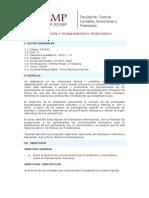 Gestiòn y Planeamiento Tributario - Syllabus - 2010-1