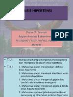 Krisis Hipertensi pppt
