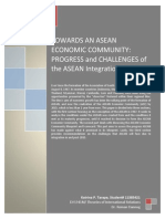 TERM PAPER-Towards an ASEAN Economic Community