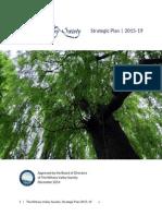 The Nittany Valley Society Strategic Plan 2015-19