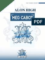 (Avalon High-Meg Cabot)